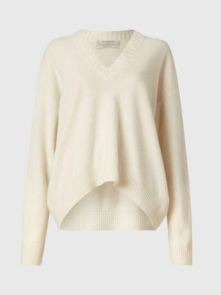 WOMEN Ivana Cashmere-Wool Blend V-Neck Sweater
