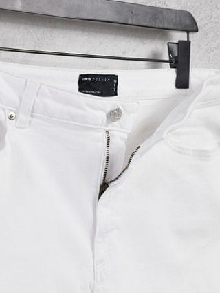 WOMEN Tall high rise ridley 'skinny' jeans in optic white