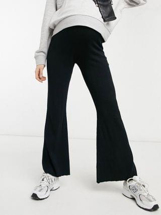 WOMEN Fashion Union sexy knit wide leg pants - part of a set