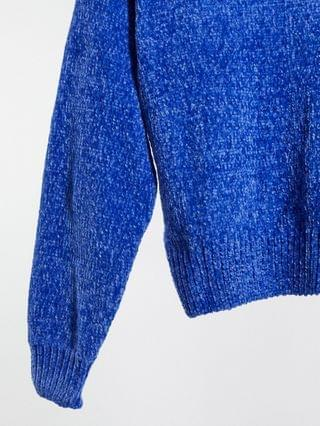 WOMEN Wednesday's Girl oversized sweater in chenille knit