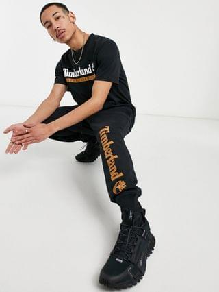 Timberland YC Established 1973 t-shirt in black