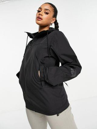 WOMEN The North Face Peril Wind jacket in black