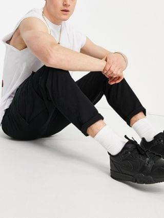 New Look cargo pants in black