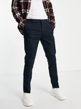 New Look skinny chino pants in navy