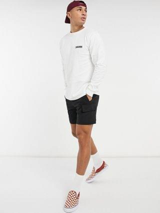 Vans Blooming long sleeve t-shirt in white