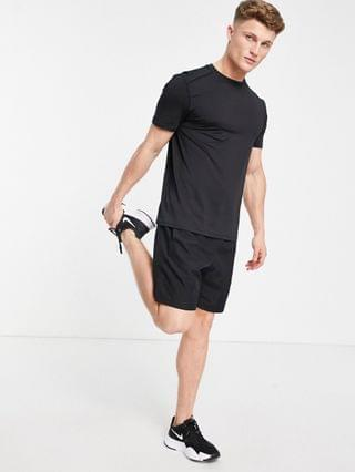 New Look SPORT recycled polyester running t-shirt in black