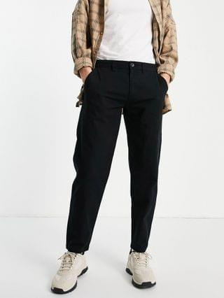 New Look original fit chino pants in black