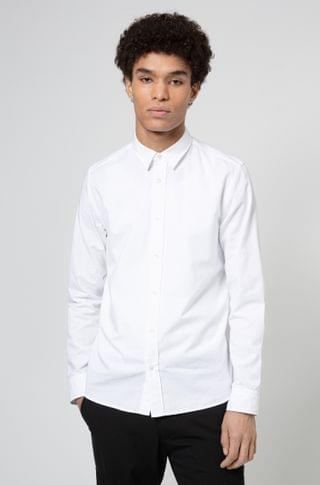 MEN Cotton relaxed-fit shirt with collection artwork