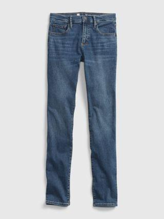 KIDS Teen Stacked Ankle Skinny Jeans with Stretch