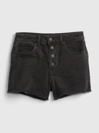 KIDS Teen Sky High-Rise Denim Shorts with Stretch