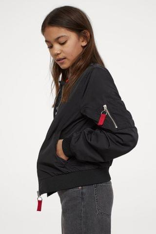 KIDS Printed Bomber Jacket