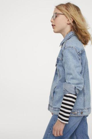 KIDS Oversized Denim Jacket
