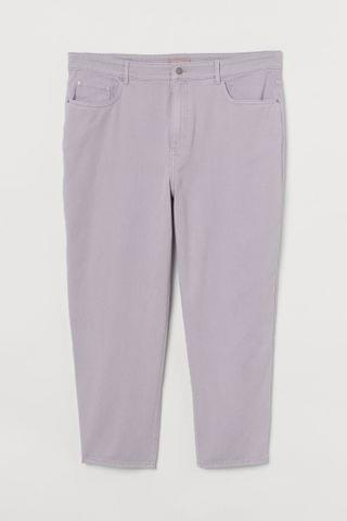 WOMEN H&M+ Ankle-length Pants