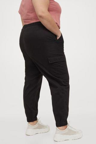 WOMEN H&M+ Twill Cargo Pants