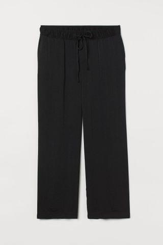 WOMEN H&M+ Wide-cut Pull-on Pants