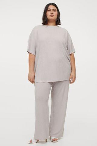 WOMEN H&M+ Ribbed Pants