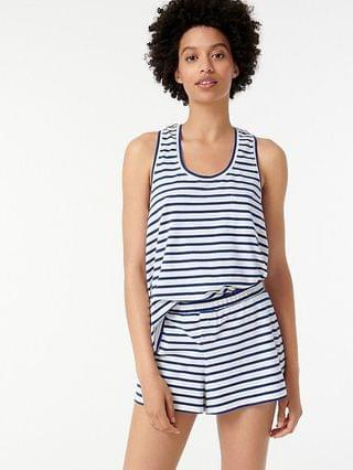 WOMEN Dreamy pajama tank set in stripe
