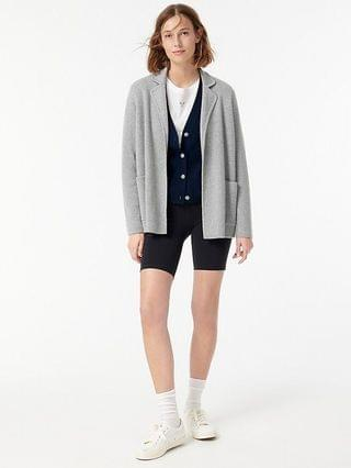 WOMEN Cashmere sweater-blazer