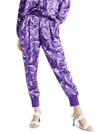 WOMEN INC Printed High-Rise Jogger Pants Created for Macy's