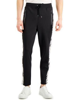MEN Regular-Fit Stretch Palm Tipped Track Pants