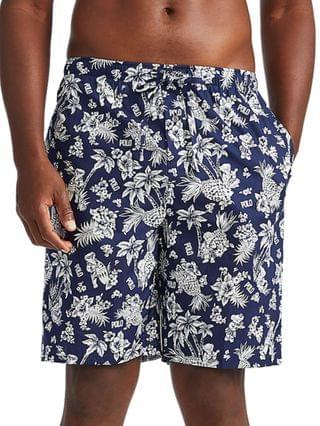 MEN Tropical Pajama Shorts