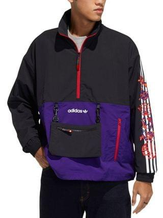 MEN Lunar New Year Half-Zip Windbreaker
