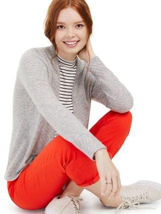 WOMEN Petite Cashmere Open-Front Cardigan Created for Macy's