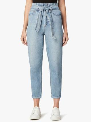 WOMEN The Brinkley Belted Jeans