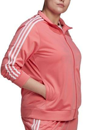 WOMEN Essentials Plus Size Tricot Track Jacket