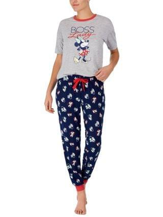 WOMEN Minnie Mouse Boss Lady Pajama Set