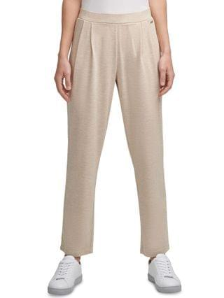 WOMEN Solid Casual Pull-On Pants