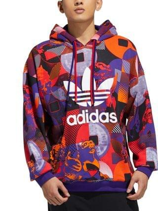MEN Lunar New Year Allover Printed Hoodie