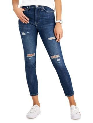 WOMEN Ripped Skinny Ankle Jeans