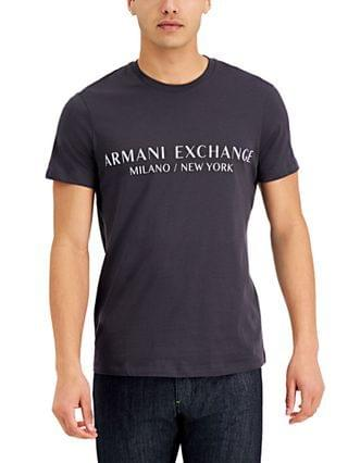 MEN Milano New York Logo Graphic T-Shirt