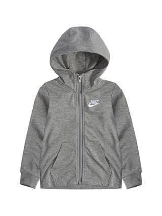 KIDS Little Boy Jersey Full Zip Hoodie