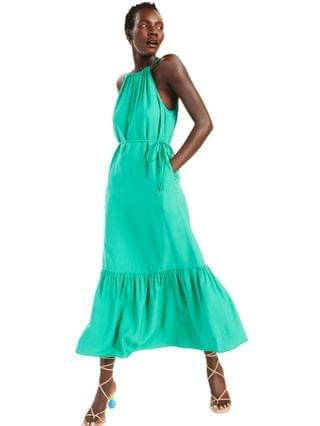 WOMEN INC Halter-Style Maxi Dress Created for Macy's
