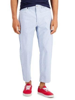MEN Skater-Fit Railroad Stripe Jeans Created for Macy's
