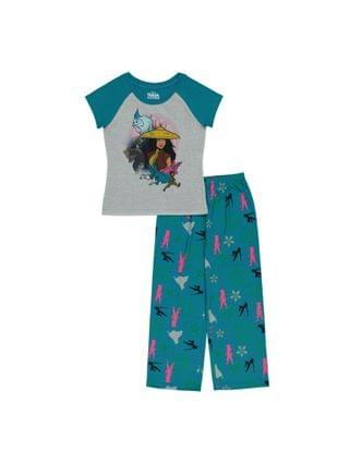 KIDS Raya Little Girls 2 Piece Pajama Set