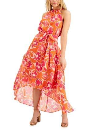 WOMEN INC Floral-Print Midi Dress Created for Macy's