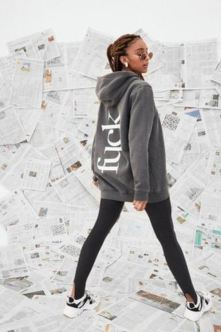 WOMEN Doin' Our Own Fuckin' Thing Oversized Graphic Hoodie