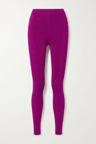 WOMEN AZ FACTORY Switchwear stretch-knit leggings