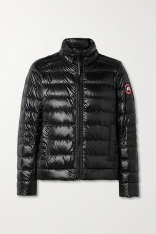 WOMEN CANADA GOOSE Cypress quilted recycled ripstop down jacket