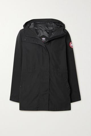 WOMEN CANADA GOOSE Minden hooded shell jacket