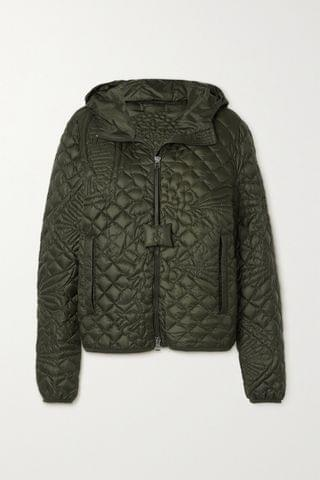WOMEN MONCLER GENIUS + JW Anderson hooded quilted down jacket