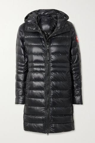 WOMEN CANADA GOOSE Cypress hooded quilted shell down jacket