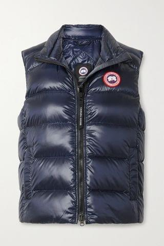 WOMEN CANADA GOOSE Cypress quilted recycled ripstop down vest