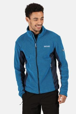 MEN Regatta Blue Highton Winter Full Zip Fleece