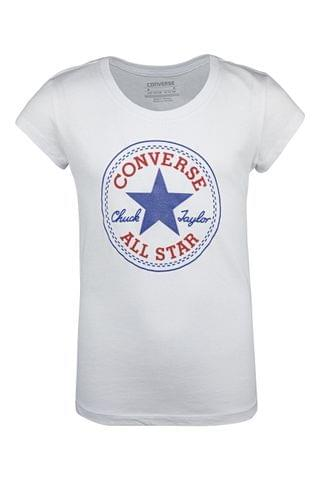 KIDS Converse Chuck Patch Older Girls T-Shirt