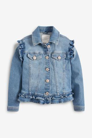 KIDS Denim Frill Jacket (3-16yrs)