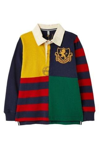 KIDS Joules Try Hotchpotch Rugby Shirt